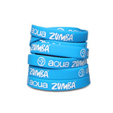 Aqua Zumba Rubber Bracelets - 8 pack