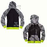Men's Feel the Music Zip Up Hoodie